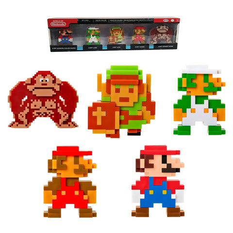 8-bit World Of Nintendo Figure Collection