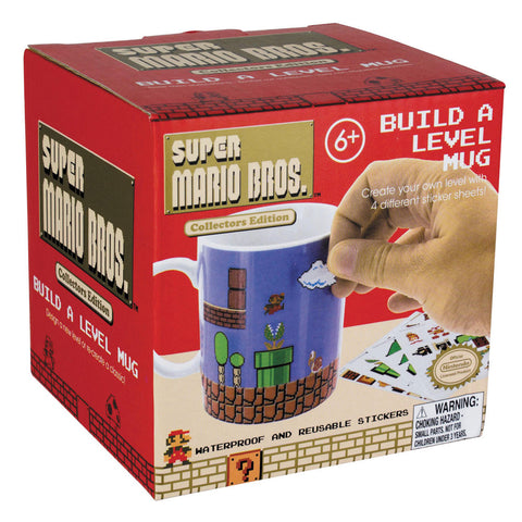 Super Mario Build A Level Mug