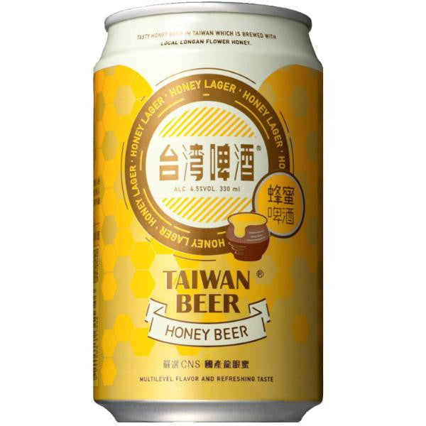 Limited Edition - Honey Taiwan Beer - 330ml x 24 Cans Box