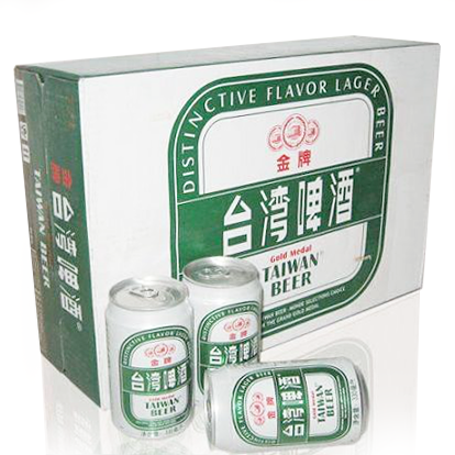 Gold Medal Taiwan Beer - 330ml x 24 Cans Box