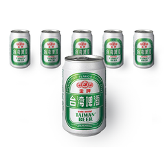 Gold Medal Taiwan Beer - 330ml x 6 Can Box