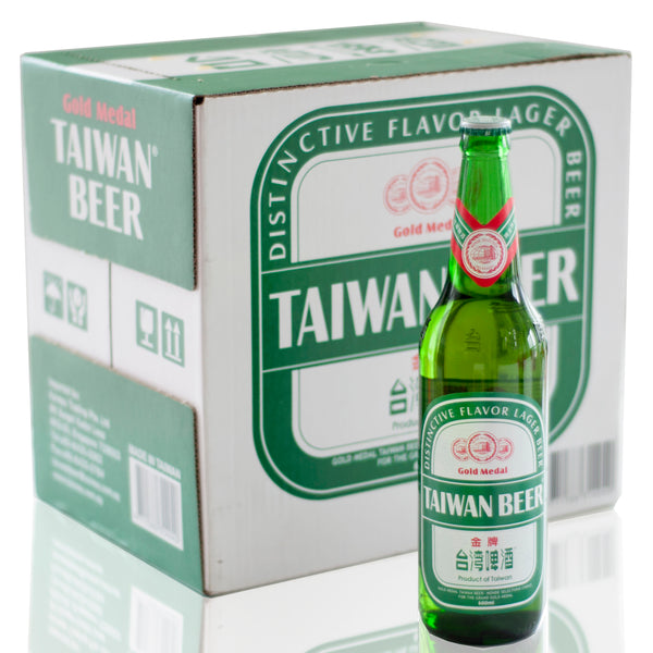 Gold Medal Taiwan Beer - 600ml x 12 Bottles Box