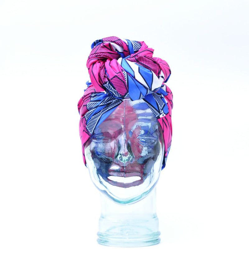 """Barbie"" headwrap"
