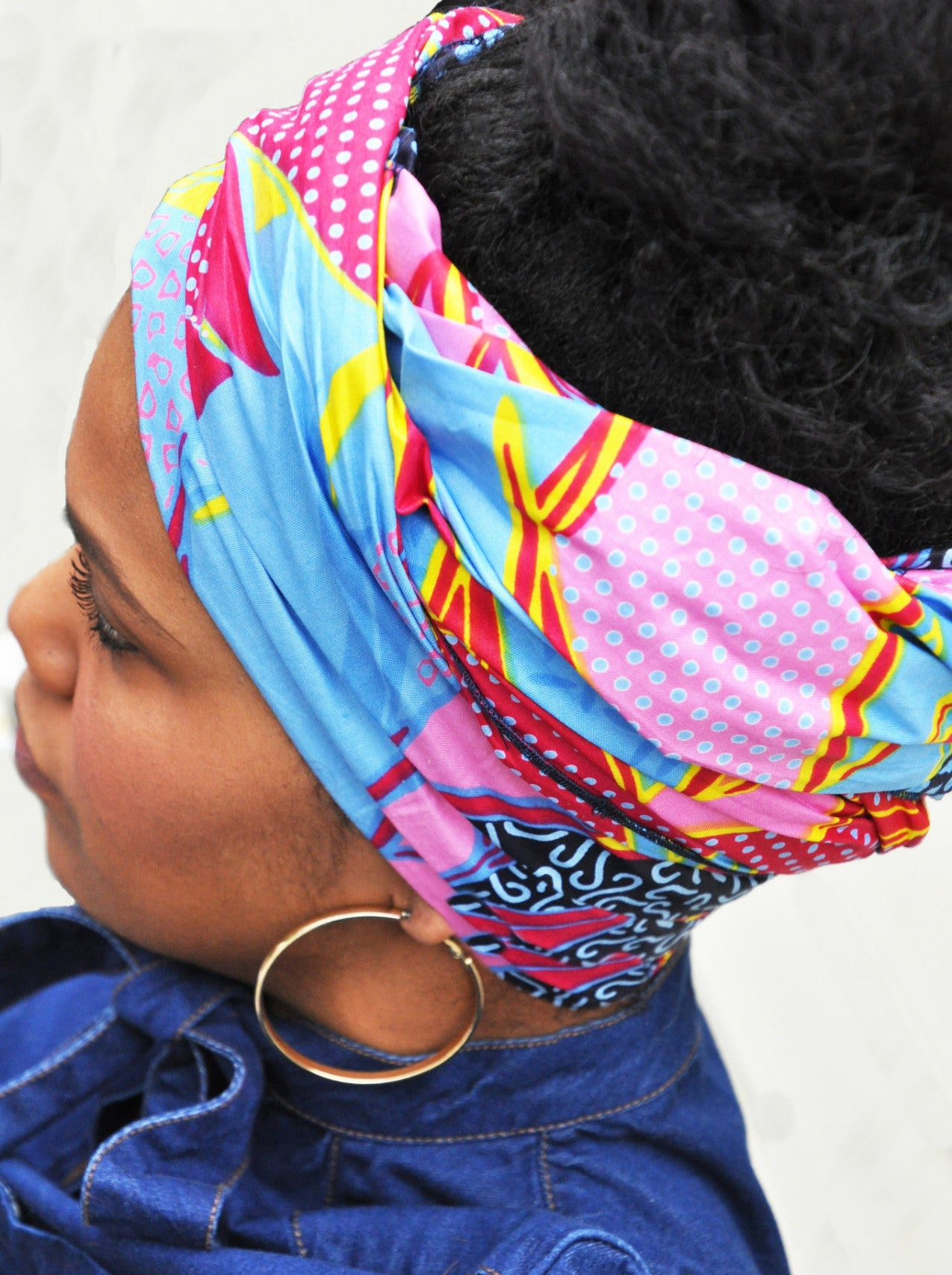 """Coral Reef"" headwrap"