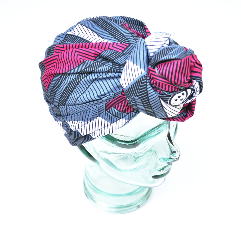 """Wine-ish"" headwrap"