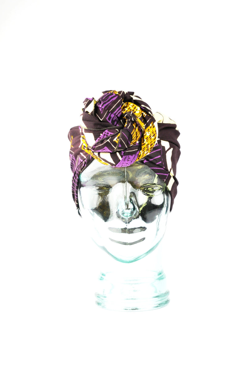 """Lightning"" headwrap"