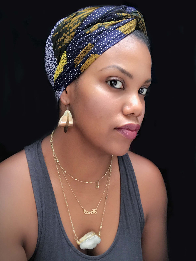 """Eclipse"" headwrap"