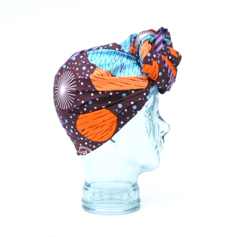"""Galaxy"" headwrap"