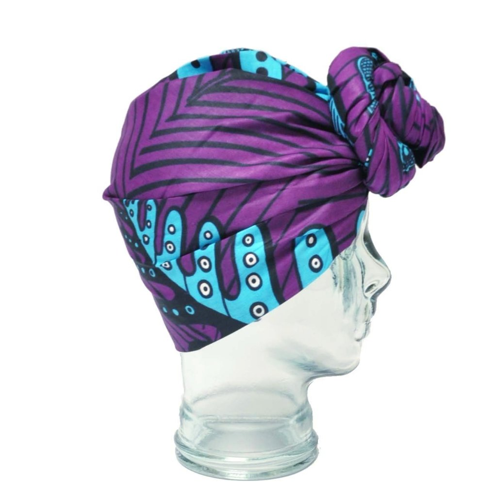 """Grape Escape"" headwrap"