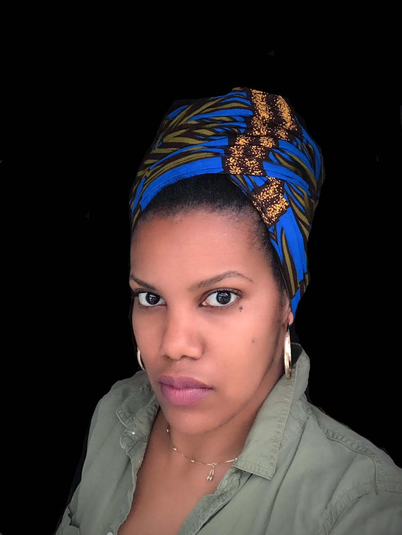 """Grated"" headwrap"