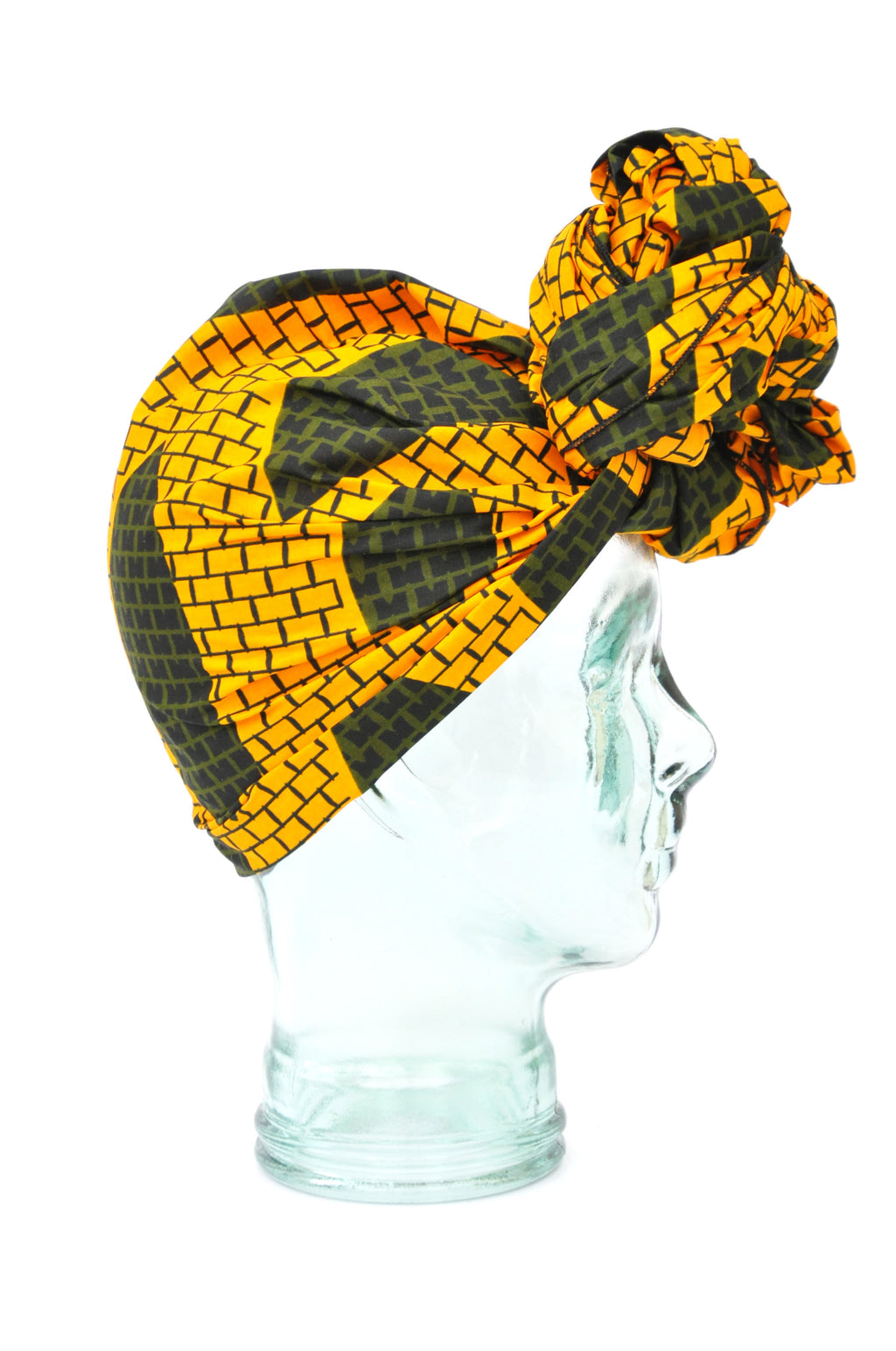 """Honeycomb"" headwrap"