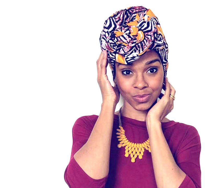 """Lazy Days"" headwrap"