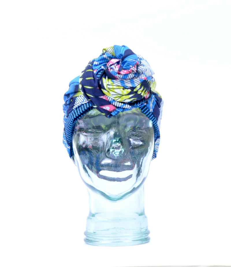"""Royal Peacock"" headwrap"