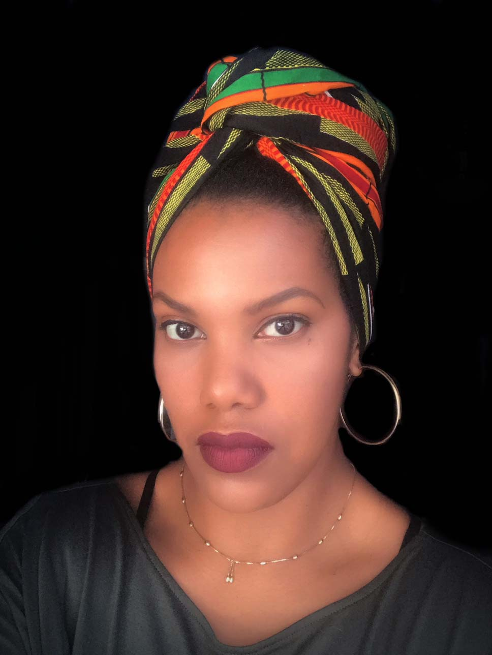 """Motherland"" headwrap"