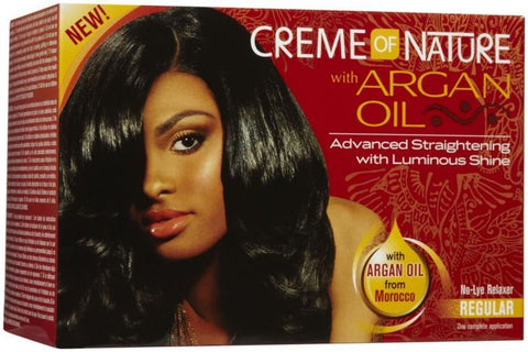 Creme of Nature Argan Oil No Lye Relaxer Regular - ALL THINGS HAIR LTD