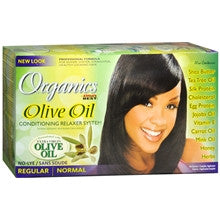 Africa's Best Organics Olive Oil Conditioning No-Lye Relaxer Kit - ALL THINGS HAIR LTD