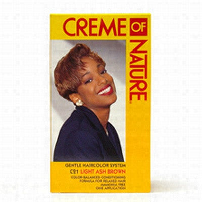 Creme of Nature Hair Colour - Light Ash Brown - ALL THINGS HAIR LTD