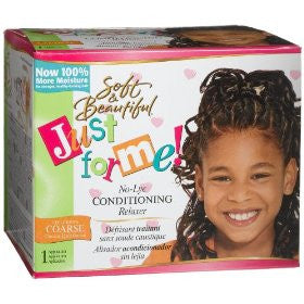 Just For Me! No-Lye Conditioning Relaxer Kit - Coarse - ALL THINGS HAIR LTD