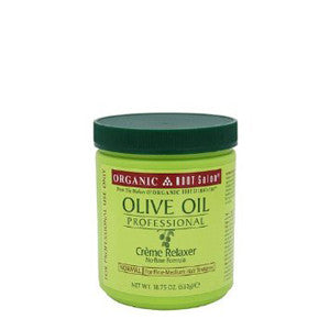 Organic Root Stimulator Olive Oil Professional Creme Relaxer Normal 18.75 oz - ALL THINGS HAIR LTD