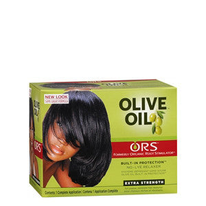 ORS Olive Oil Built-In Protection No-Lye Relaxer Kit - Extra Strength - ALL THINGS HAIR LTD