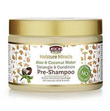 African Pride Moisture Miracle Aloe & Coconut Water Pre-Shampoo 12oz - ALL THINGS HAIR LTD