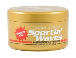 Sportin' Waves Maximum Hold Pomade Gel - ALL THINGS HAIR LTD