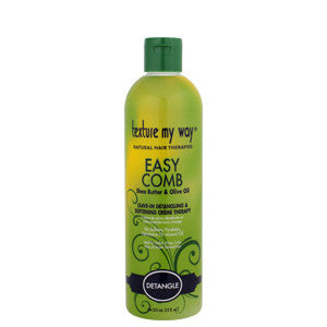Texture My Way Easy Comb Leave-In Detangling & Softening Crème Therapy 12oz - ALL THINGS HAIR LTD
