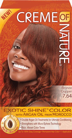 Creme of Nature Hair Colour - Bronze Copper 7.64 - ALL THINGS HAIR LTD