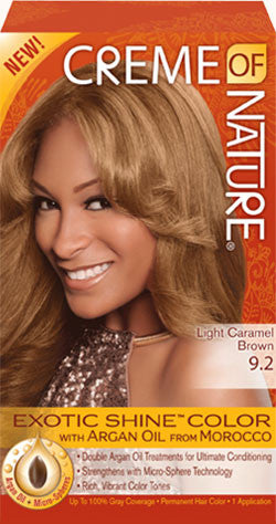 Creme of Nature Hair Colour - light Caramel Brown - ALL THINGS HAIR LTD