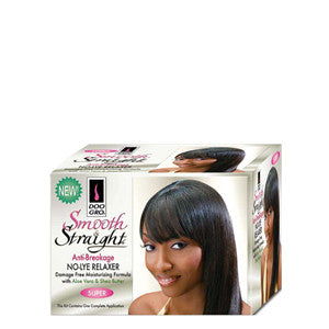 Doo Gro Smooth Straight No-Lye Relaxer Anti Breakage Kit - Super - ALL THINGS HAIR LTD