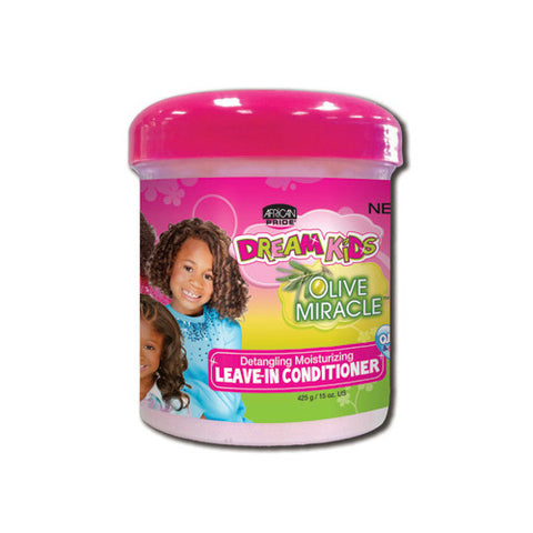 African Pride Dream Kids Olive Miracle Leave-In Conditioner - ALL THINGS HAIR LTD