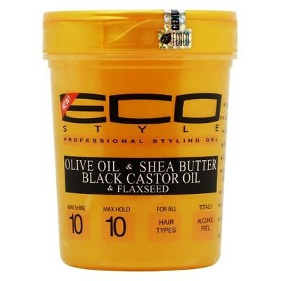 Eco Styler  Olive Oil & Shea Butter, Black Caster Oil & Flaxseed - ALL THINGS HAIR LTD