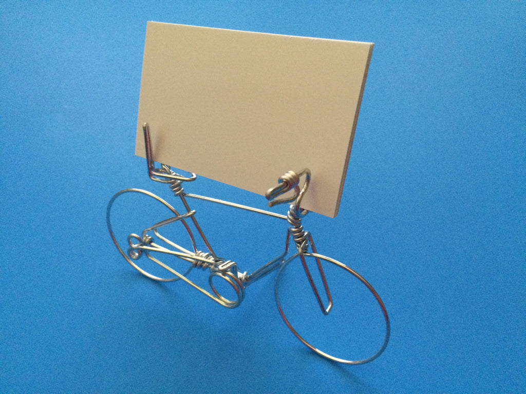 Bicycle Business Card Place Holder Cycling Bike Lovers Cyclists ...