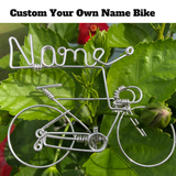 Custom Your Own Name Bike - Personalized Bicycle Decor Gifts