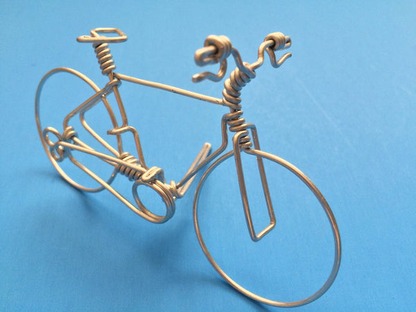 Handcrafted Mountain Bike Decor Ornament Uniuqe Bicycle