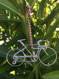 Handcrafted Bicycle Ornament - Christmas Tree Decorations