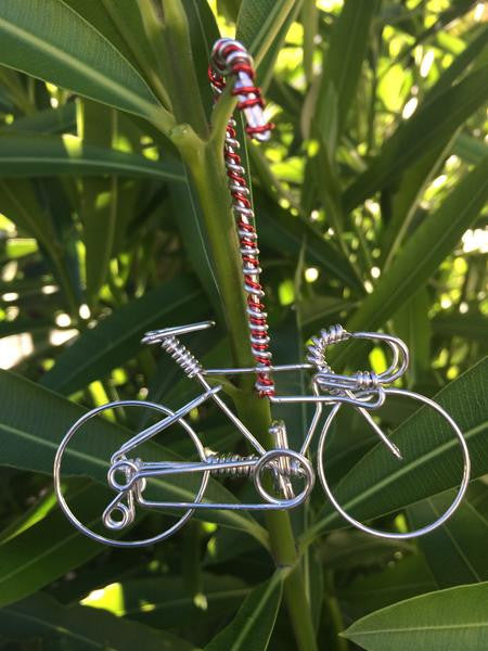 Handmade Bicycle Ornament Bike Decor Unique Christmas
