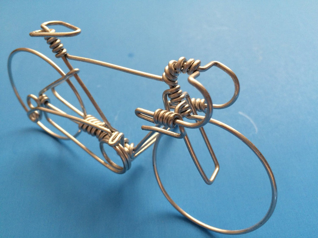 Handcrafted Road Bike Decor Ornament Decorations -Uniuqe Bicycle ...