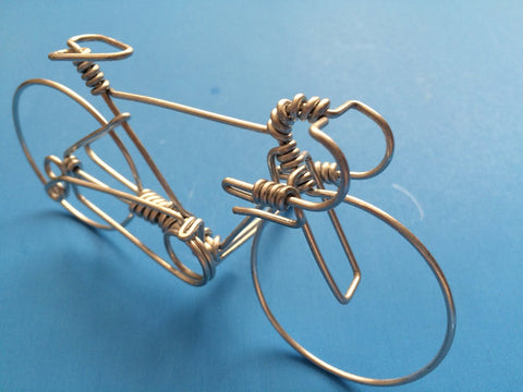 Handcrafted Road Bicycle Ornament Decoration