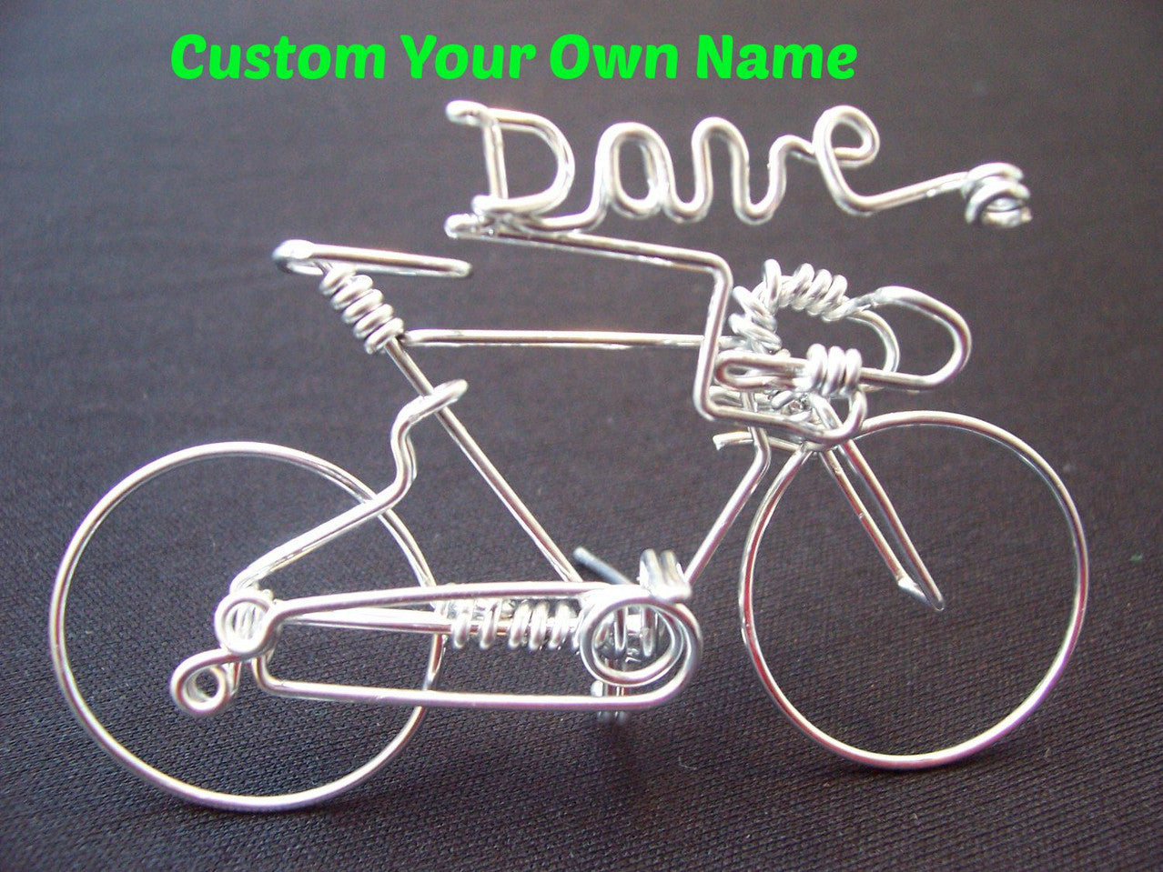 Personalized Name Road Bike