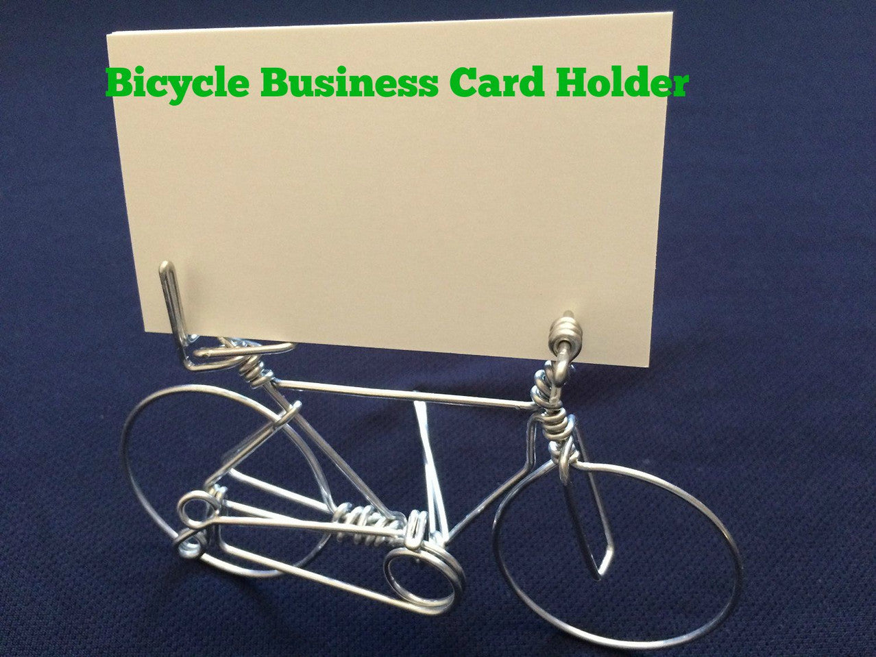 Bicycle Business Card Holder