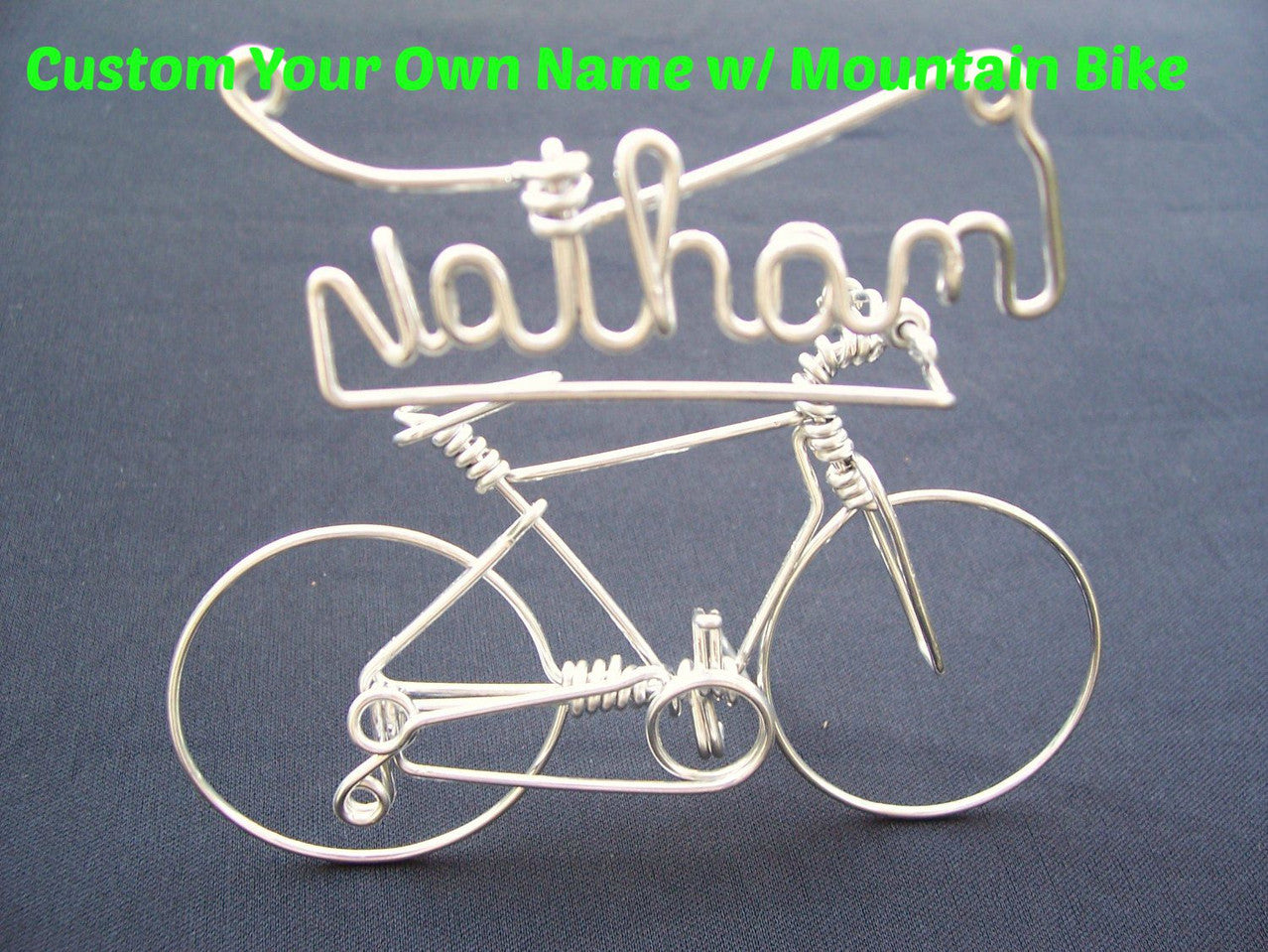 Personalized Name Mountain Bike
