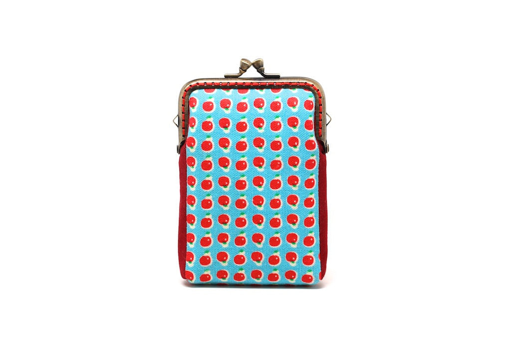 Fruity holidays mini apples card holder wallet