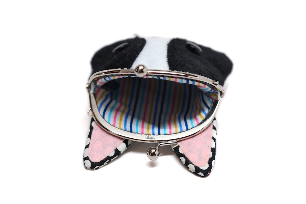 French bulldog 'Chikuwa' coin purse