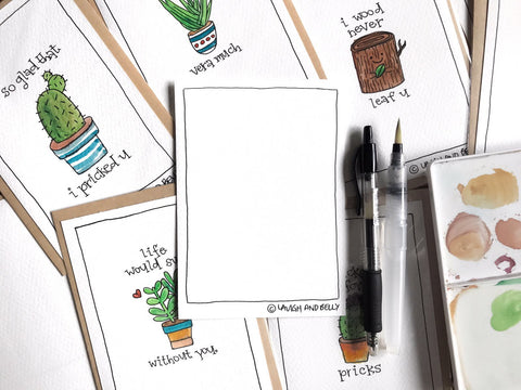 Hand Drawn Card Making with Terrarium Crafting on      30th Sept, 1pm to 4pm
