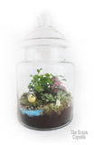 Terrarium - Totoro & Chibi by the river