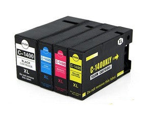 Compatible Canon PGi-1400XL Cyan Ink Cartridge only - Swan Cartridges