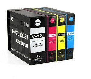 Compatible Canon PGi-2400XL Yellow Ink Cartridge - Swan Cartridges