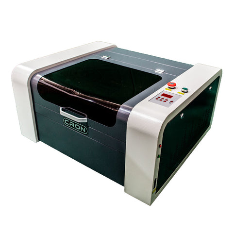 CRON CO2 Laser Cutter, 4040, 50W Laser - Swan Cartridges