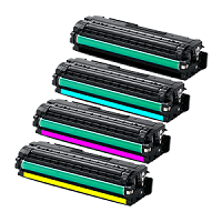Compatible Samsung 506L Cyan Toner Cartridge - Swan Cartridges